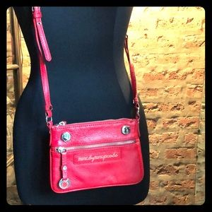 Marc by Marc Jacobs red crossbody mini purse